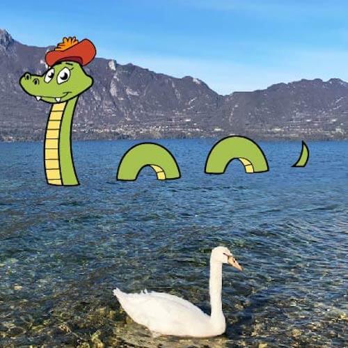 Illustration lac du Bourget
